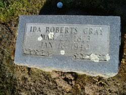 Ida Roberts Gray (1873-1940) - Find A Grave Memorial