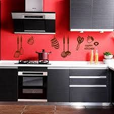 Photno Diy Removable Happy Kitchen Wall Buy Online In Cambodia At Desertcart