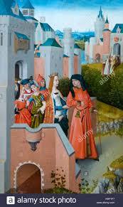 Legend of Saint Ursula, by Master of Legend of Saint Ursula, circa Stock  Photo - Alamy