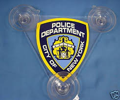 Nypd Police Car Shield With Decal 114828133