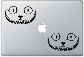 Buy Cheshire Cat Smile 12 Arcdecals78601595 Set Of Two 2x Decal Sticker Laptop Ipad Car Truck In Cheap Price On Alibaba Com