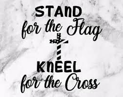 Kneel Decal Etsy
