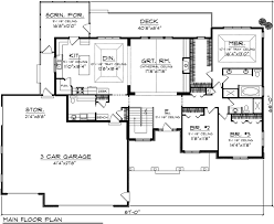 house plan 73147 traditional style