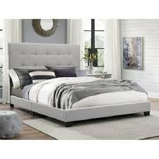 upholstered platform bed faux crocodile