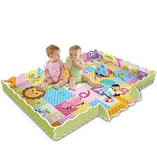 Toyfun Baby Play Mat With Fence Super Thick 0 79 2cm Interlocking Foam Floor Tiles Extra Large Crawling Mat With Lion King Patterns Playroom Nursery Puzzle Mat For Infants Toddlers And Kids Wantitall