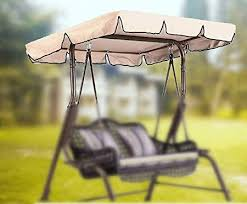 swing canopy cover replacement 3 seater