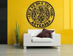 3m Wall Room Decor Art Vinyl Sticker Mural Decal Tiki Tour Stamp Large Big As1570