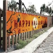Yard Large Indoor Outdoor Decoration Scary Bloody Halloween Banner Shopee Philippines