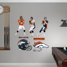 Shop Fathead Peyton Manning Hero Pack Wall Decals Overstock 9465607