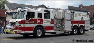albany ny fire trucks fire