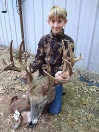 Deer Hunting Youth Kills Monster Missouri Buck During Youth Hunt