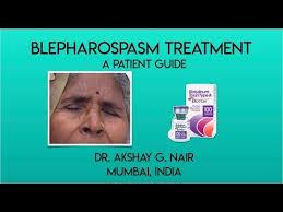 blepharospasm hemi spasm
