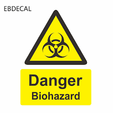 Ebdecal Danger Biohazard Zombie For Auto Car Bumper Window Wall Decal Sticker Decals Diy Decor Ct10046 Car Stickers Aliexpress