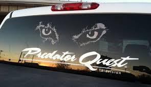 Pq Signature Series Large Decal Predator Quest