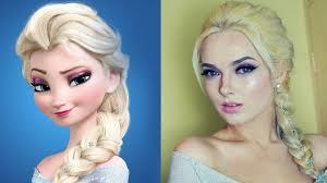 disney s frozen elsa make up tutorial