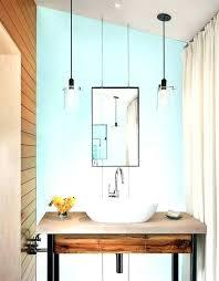bathrooms lighting hanging pendant