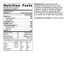 califia unsweetened almond milk smith