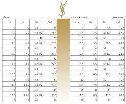women s shoe size chart pared to men