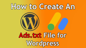 ads txt file for wordpress s