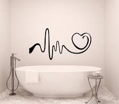 Wrought Studio Esqueda Heartbeat Vinyl Wall Decal Wayfair