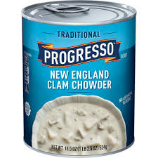 new england clam chowder canned soup