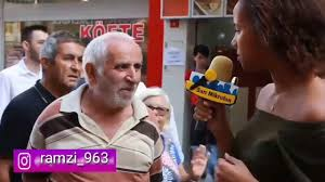Funny English Speaking Old Man In Turkey تقسيم شايب تركي Youtube