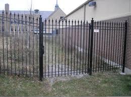 gate opener wrought iron garden gates