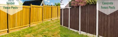 Timber Or Concrete Fence Posts Lawsons