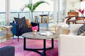 designs hot pink rug vintage
