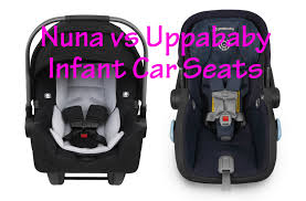 nuna vs uppababy kid sitting safe