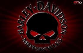 harley davidson skull wallpapers top