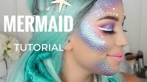 mermaid makeup halloween tutorial