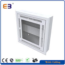 flush type wall mount network cabinet