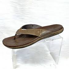 merrell mens sandals flip flops brown