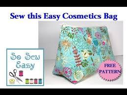 sew an easy cosmetics bag you