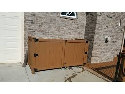 Best Way To Hide My Garbage Cans Privacy Fence Archadeck Outdoor Living