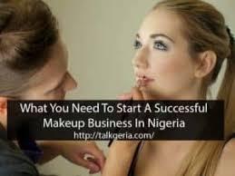 start a makeup business in nigeria