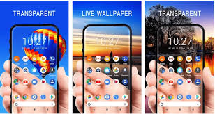 transpa screen apps android iphone