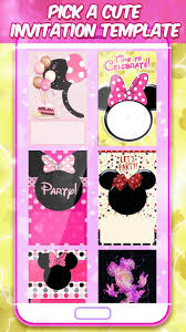 Minni Mouse Tarjetas De Invitacion For Android Apk Download