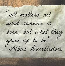 best character and quotes dumbledore as the headmaster from