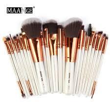 alex best pick wooden makeup brush set