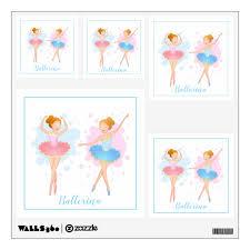 Ballerina Wall Decals Zazzle Com