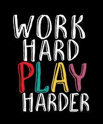 trabaja duro juega mas dificil cita divertida para gamer gaming