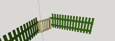 Fitting A Gate To An Odd Angle By Edscustomwoodcrafts Lumberjocks Com Woodworking Community