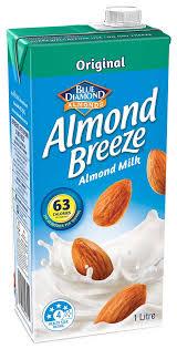original almond milk almond breeze
