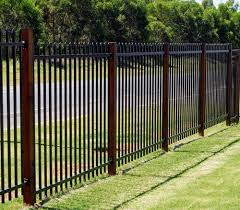 Black Security Fence Panel 1 8m High X 2 4m Long Galvanised Steel Powdercoated