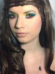hippie costume eye makeup saubhaya makeup