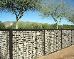 Gabion Landscaping Gabion Fence Gabion Wall Backyard Fences
