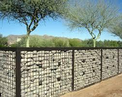 Product And Application Gallery Mcnichols Gabion Fence Gabion Wall Backyard Fences