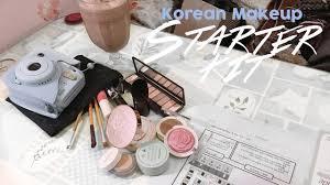 korean makeup starter kit beginner s